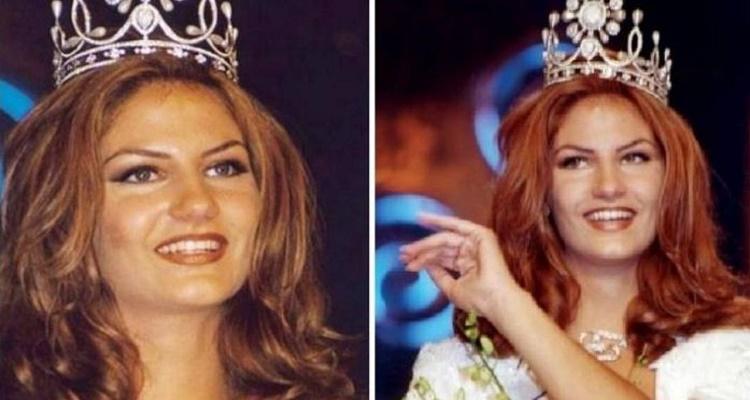 شاهد كيف أصبح شكل ملكة جمال لبنان بعد 16 عاماً...سبحان الله
