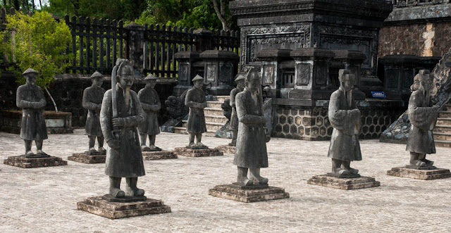estatuas de Terracota Hue