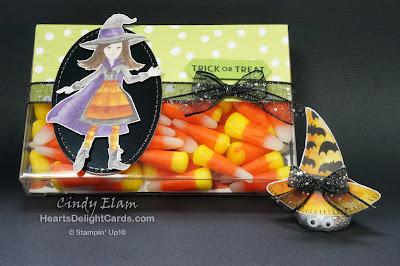 Heart's Delight Cards, MIF Handmade Holiday, Treats, Halloween Treats, Stampin'  Up!