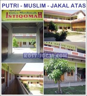 info kost mahasiswi muslimah jogja