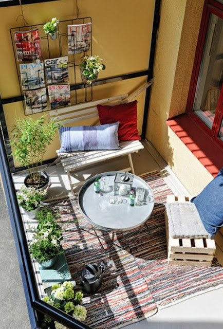 Ideas For Decorating Small Balconies 2