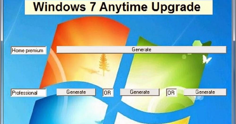 windows anytime upgrade key torrent