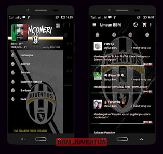 BBM MOD Juventus Full Fitur v3.0.1.25 APK