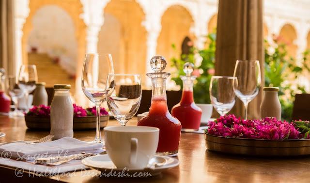 Suryagarh table