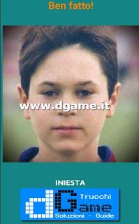 Soluzioni Guess the child footballer livello 9