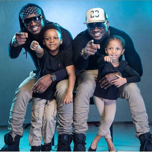 Lola Okoye Pens Down Heartfelt Message To Her Husband & His Twin On Birthday