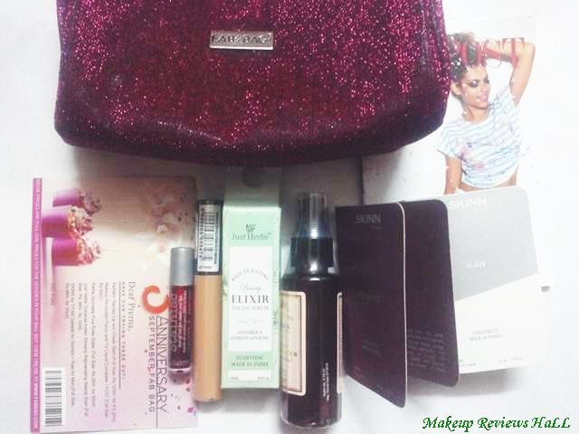 Fab Bag September 2015 Review