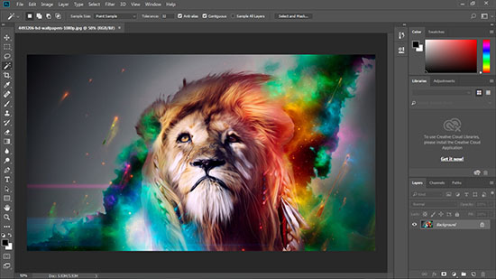 Adobe Photoshop 2018 Build 19.0.1.190 Full Version
