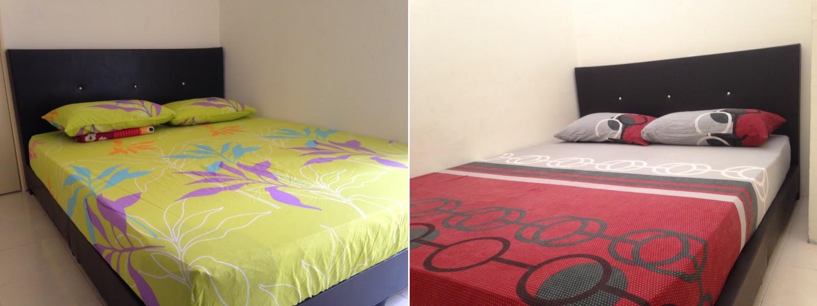 Bilik Tidur Yang Berhawa Dingin Disediakan Kepada Tetamu Datang Menginap I Gambang Homestay