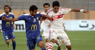محمد إبراهيم يفوز بلقب رجل مباراة الزمالك وبتروجيت