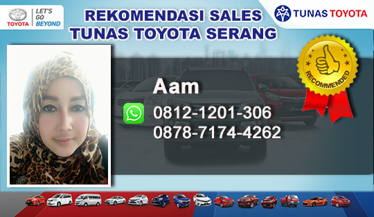 Rekomendasi Sales Tunas Toyota Serang