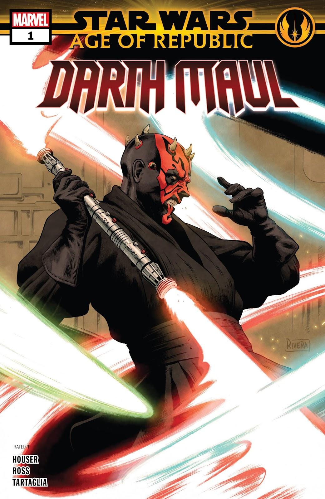 Read online Star Wars: Age of Republic - Darth Maul comic -  Issue # Full - 1