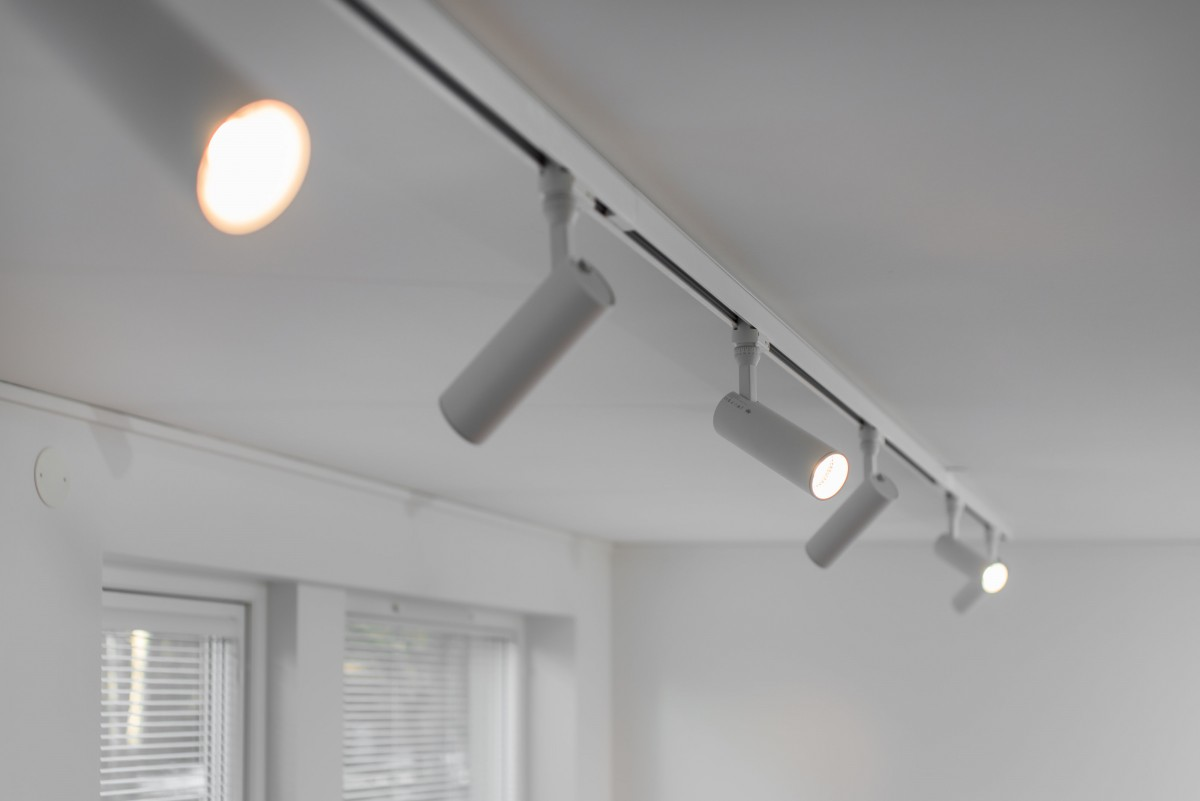 track lighting for the museum or art