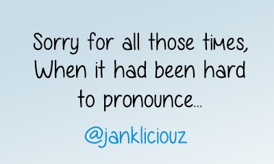 Goodbye jankliciouz, it is a new beginning!