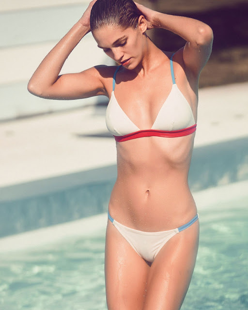 Samantha Gradoville – Solid & Striped Swimwear Photoshoot 2016