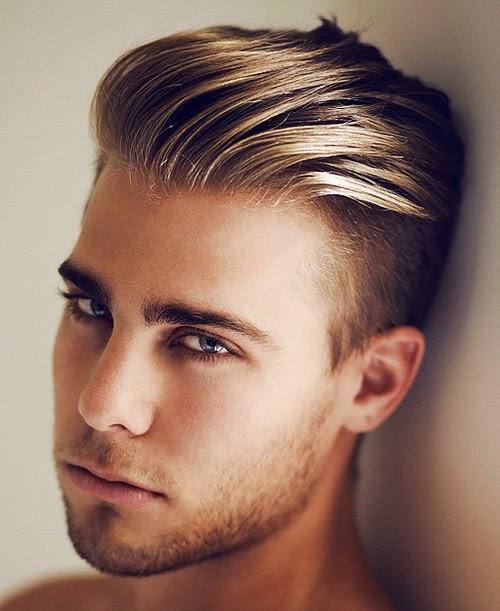 Estilos y Peinados de moda : Pelo lacio para hombres 2015