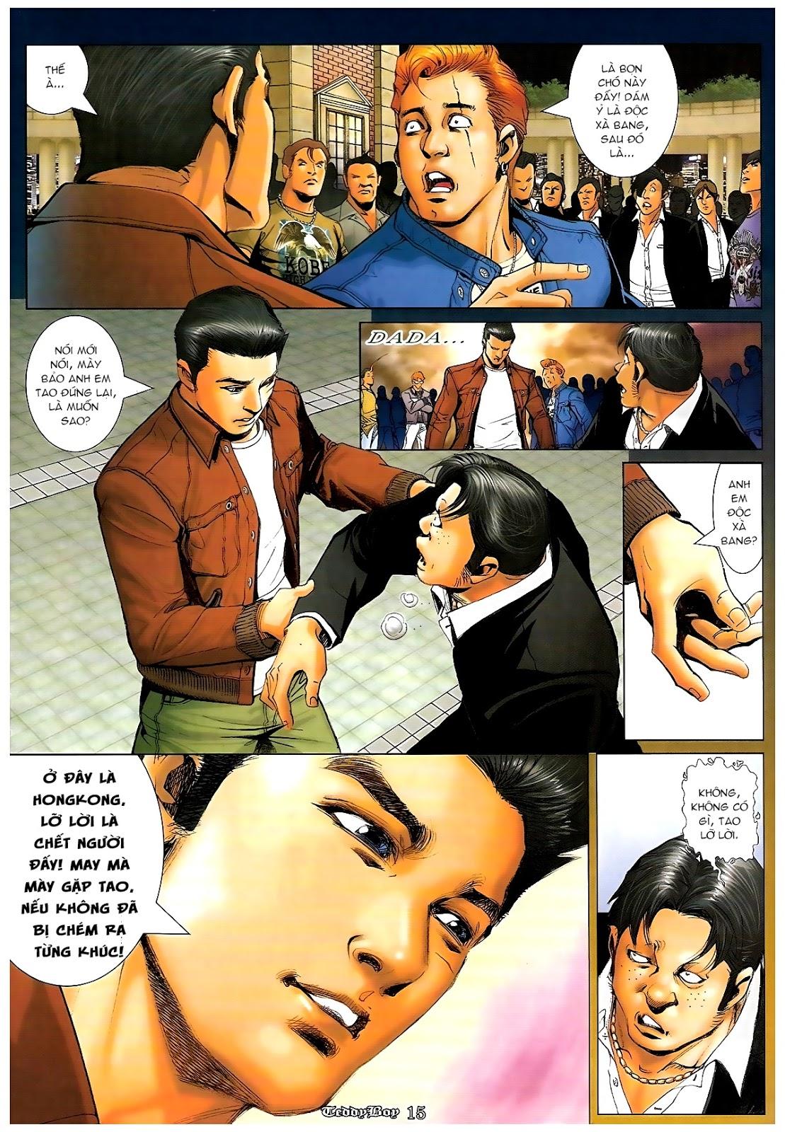 Người Trong Giang Hồ - Chapter 1189: Bố già - Pic 13