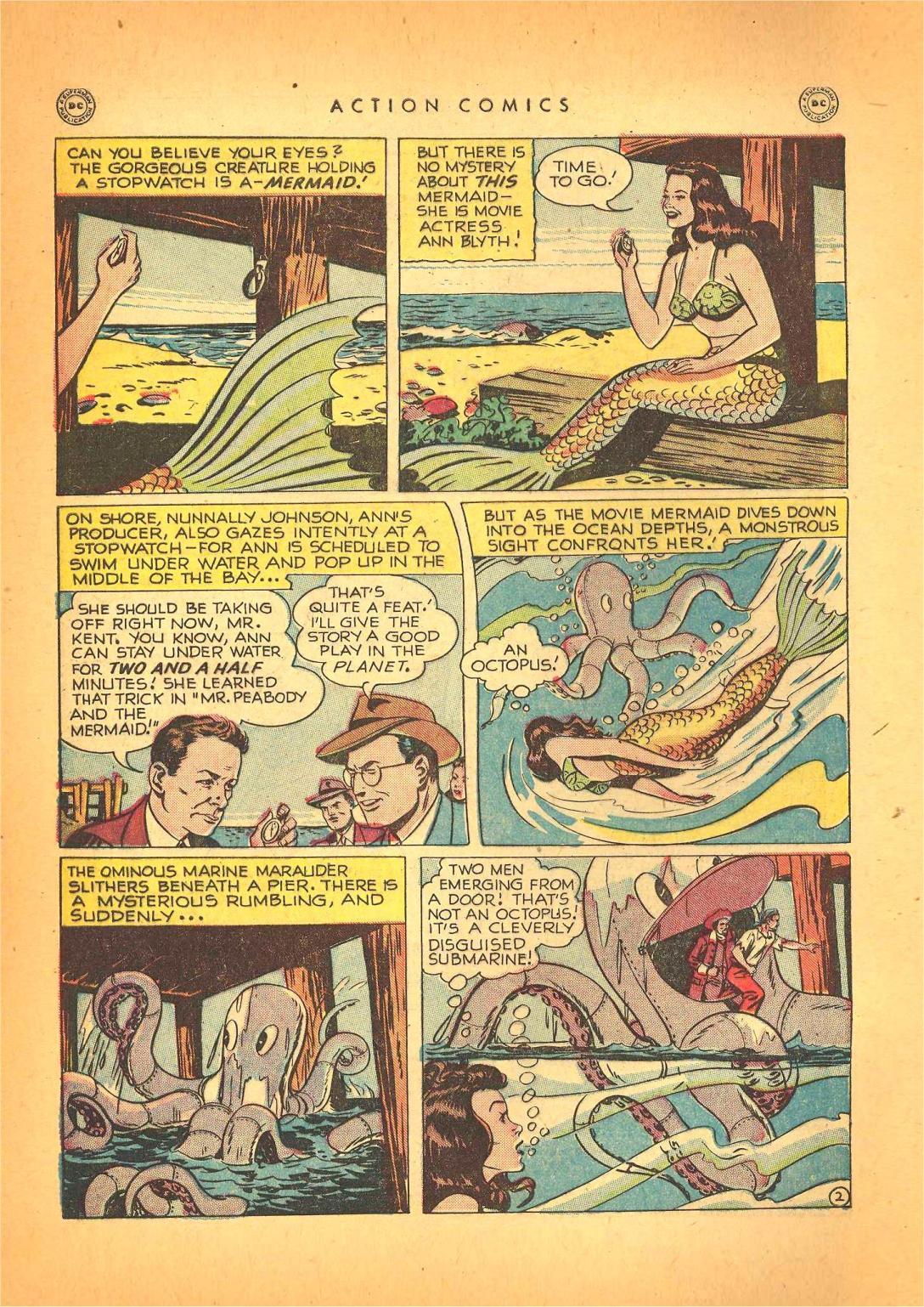 Action Comics (1938) 130 Page 2
