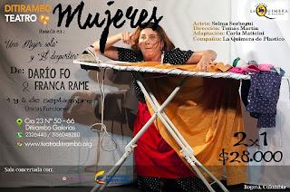Desde España a ditirambo: Mujeres