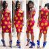 Lovely Ankara Short Gown Style