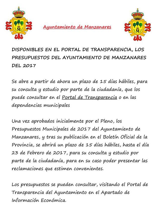 https://ayuntamientomanzanares.transparencialocal.gob.es/es_ES/buscar/contenido/articulo/articulo-8053-presupuesto-del-ayuntamiento-para-2017