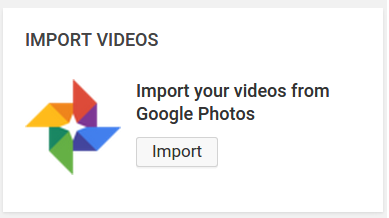 Import Video Dari Google Photos Ke Youtube