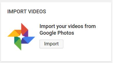 Import Video Dari Google Photos Ke Youtube