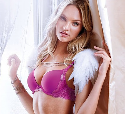 Candice Swanepoel in Hot Lingerie