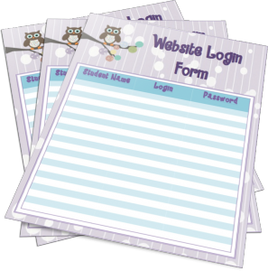 Want your own set of Owl Theme Website Login Forms?