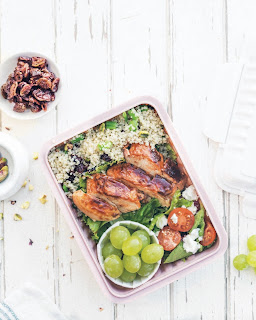 Quinoa Salad Bento from Simply Bento by Yuko and Noriko