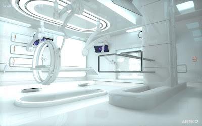 Sci-fi Surgery Room