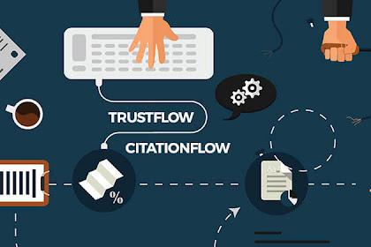 Apa itu CF (Citation Flow) dan TF (Trust Flow) ?