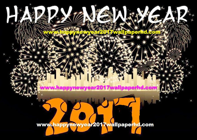 Happy new year 2017 Fireworks Wallpaper