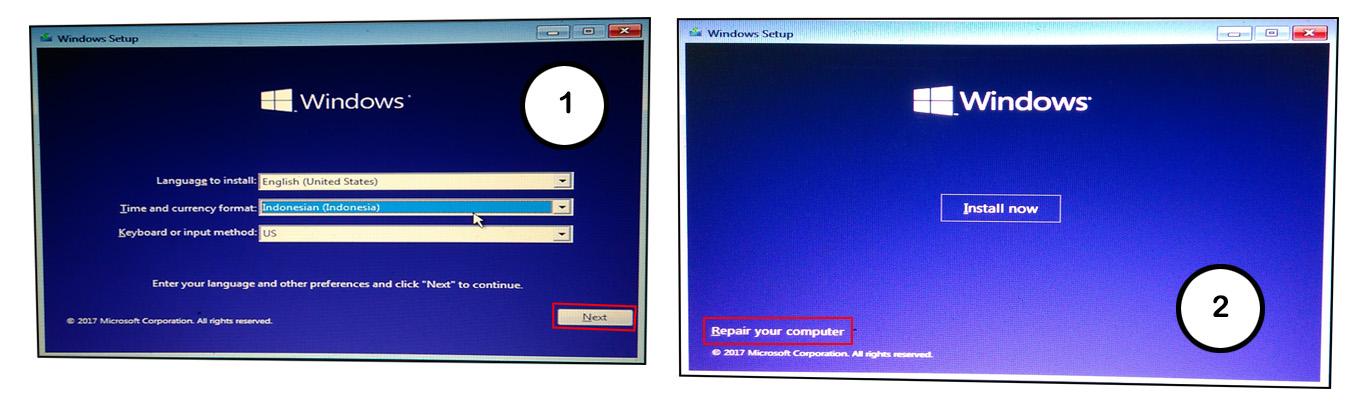 cara masuk safe mode dari bios windows 10