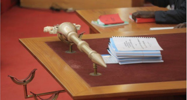 """""""We're not going to be intimidated"""" – Ekweremmadu says as senate resumes sitting with """"spare"""" mace"""