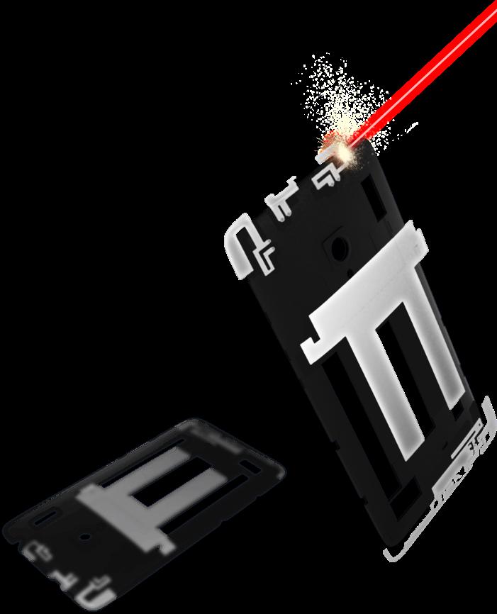 zenfone desain laser