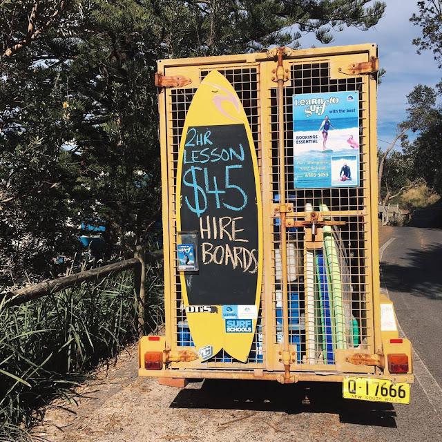 Surf Lesson en Australie