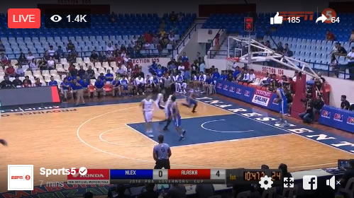 Live Streaming List: Alaska vs NLEX 2018 PBA Governors' Cup