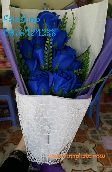 Hoa hong sap thom vinh cuu o Gia Lam