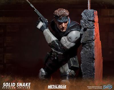 Solid Snake tratto da Metal Gear Solid della Fist 4 Figure