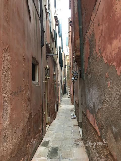 Venecia fotos callejón