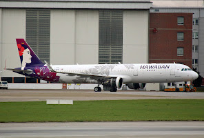 1st. A321neo for Hawaiian