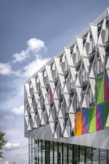 Campus Kolding of University of Southern Denmark Facade