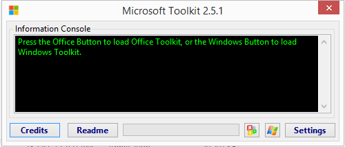 Activate windows 7 8 81 10 office 7 10 13 without product step 1 run microsoft toolkit ccuart Images