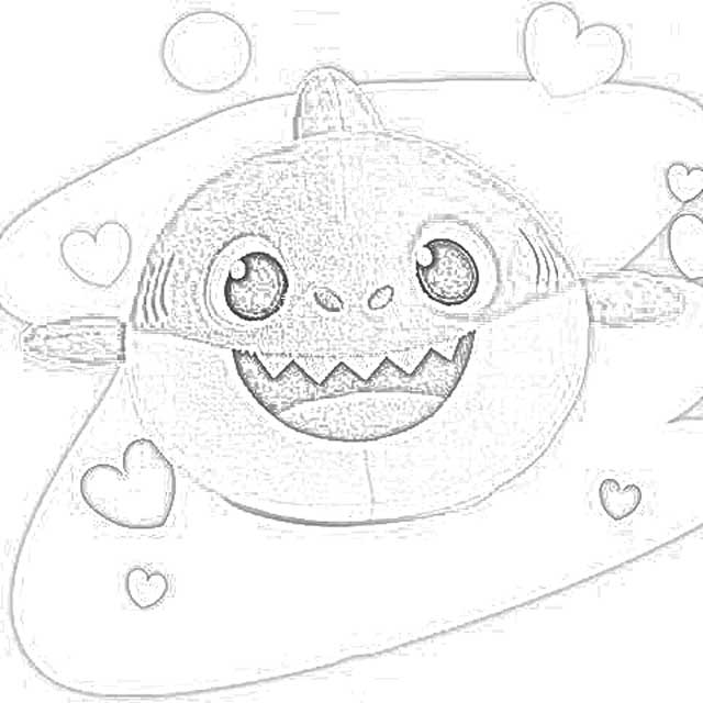 The Holiday Site Pinkfong Baby Shark Song Doll Coloring Pages Downloadable And Free