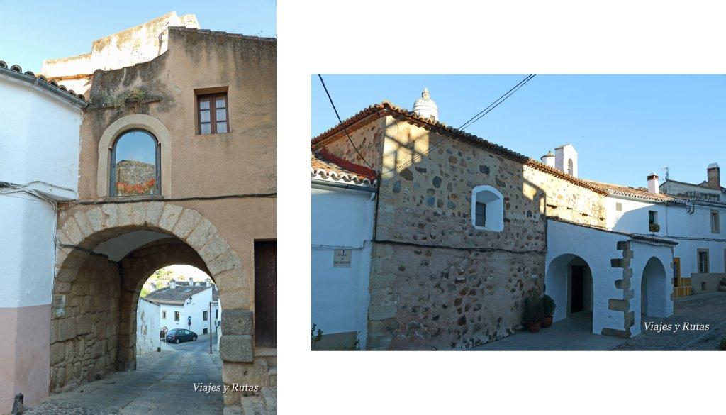 Arco del Cristo y Judería vieja de Cáceres