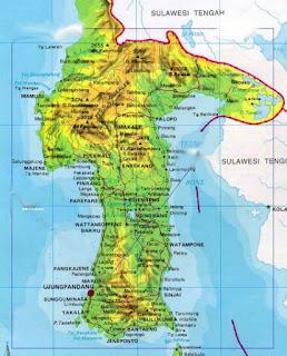 letak geografis toraja utara