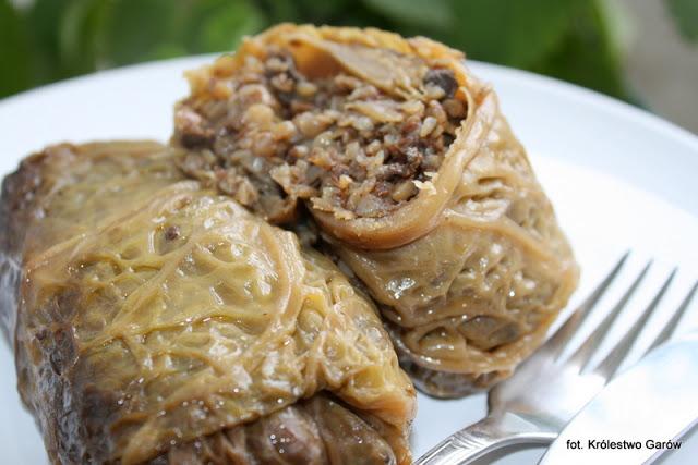 Blog O Gotowaniu Tradycyjna Kuchnia Gołąbki Z Kaszą