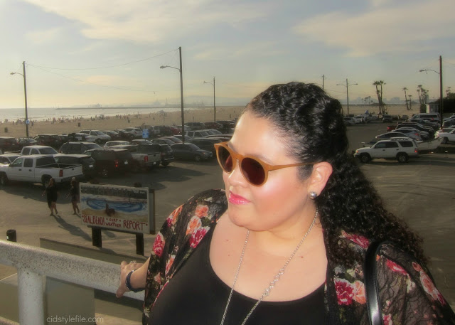 plus size, fashion, wet seal plus, seal beach, valentines day, fashion over 40, kimono, latina blogger,