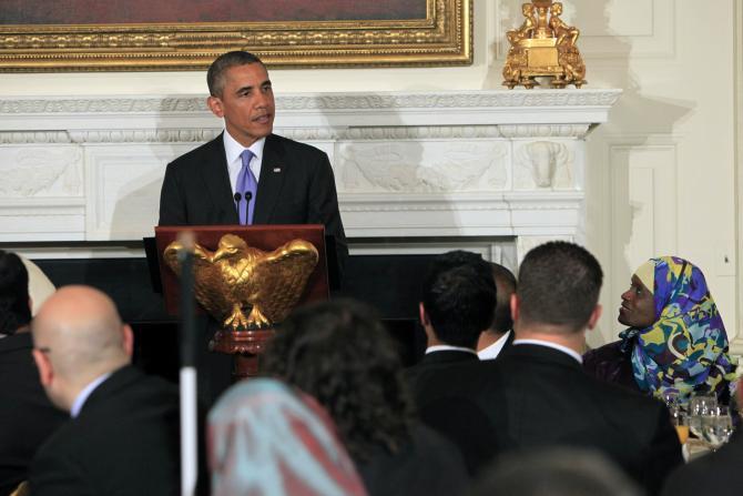 obama visit baltimore mosque